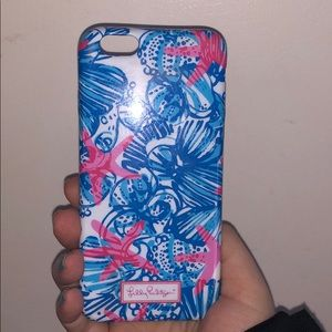iPhone 6s case lily pulitzer
